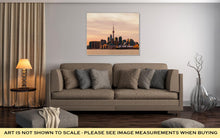 Load image into Gallery viewer, Gallery Wrapped Canvas, Cn Tower Part Of Toronto Skyline From East At Sunset