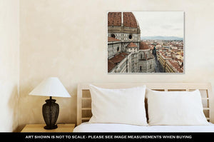 Gallery Wrapped Canvas, Cathedral Santmaridel Fiore Florence Italy Cradle Renaissance