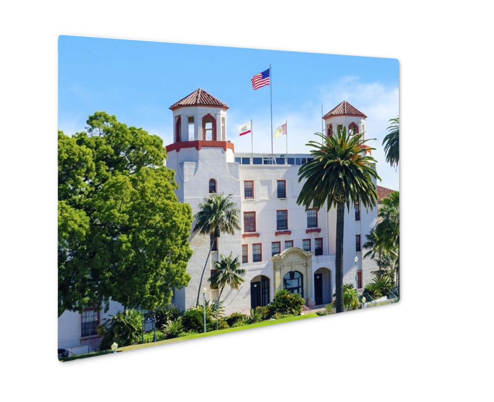 Metal Panel Print, Balbopark Naval Medical Center San Diego