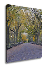 Load image into Gallery viewer, Gallery Wrapped Canvas, Autumn Colors In Central Park Manhattan New York