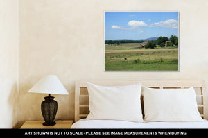 Gallery Wrapped Canvas, Grant Park Pennsylvanibattlefield Gettysburg