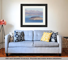 Load image into Gallery viewer, Framed Print, Lake Mead Near Hoover Dam In Nevada