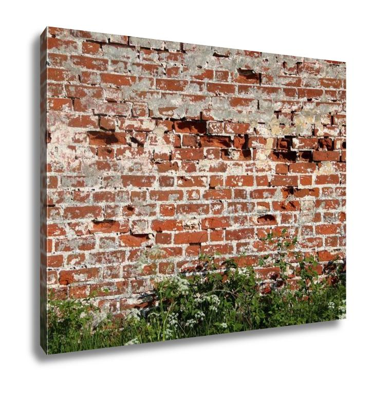 Gallery Wrapped Canvas, Old Faithful Wall Part Spasoprilutsky Monastery Vologdcity Russi