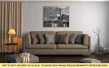 Load image into Gallery viewer, Gallery Wrapped Canvas, Colosseum Rome Vatican Place Saint Peter Cathedral Black White