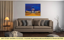 Load image into Gallery viewer, Gallery Wrapped Canvas, Capitol Building San Francisco City Hall In Blue And Gold