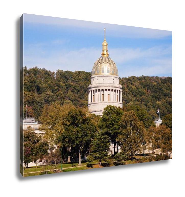 Gallery Wrapped Canvas, Charleston State Capitol Building