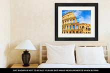 Load image into Gallery viewer, Framed Print, Colosseum Rome Italy