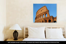 Load image into Gallery viewer, Gallery Wrapped Canvas, The Colosseum In Rome Italy