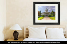 Load image into Gallery viewer, Framed Print, Capitol Building Maine State House