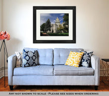 Load image into Gallery viewer, Framed Print, Colorado Capitol Building In Denver