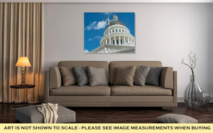 Gallery Wrapped Canvas, Sacramento State Capitol Building Of California