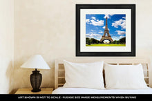 Load image into Gallery viewer, Framed Print, Beautiful Photo Of The Eiffel Tower In Paris