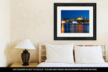 Load image into Gallery viewer, Framed Print, Evening In Istanbul And Rustem Pasa Mosque