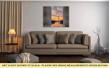 Load image into Gallery viewer, Gallery Wrapped Canvas, Brilliant Sunrise Over Reflecting Pool Dc