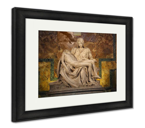 Framed Print, Michelangelos Most Famous Works