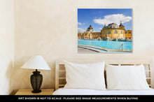 Load image into Gallery viewer, Gallery Wrapped Canvas, Budapest Szechenyi Bath
