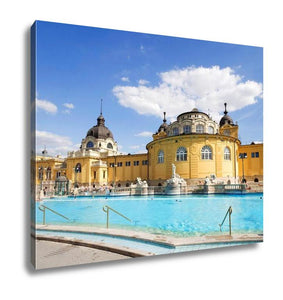 Gallery Wrapped Canvas, Budapest Szechenyi Bath