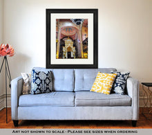 Load image into Gallery viewer, Framed Print, Budapest The Choral Synagogue Interior