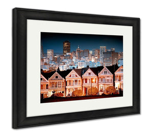Framed Print, Urban Landscape San Francisco