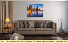 Load image into Gallery viewer, Gallery Wrapped Canvas, San Francisco In Red And Gold