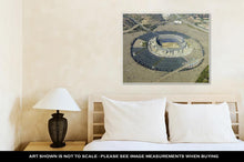 Load image into Gallery viewer, Gallery Wrapped Canvas, Aerial View Of Qualcomm Stadium San Diego