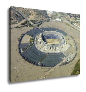 Gallery Wrapped Canvas, Aerial View Of Qualcomm Stadium San Diego