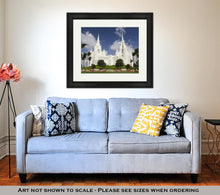Load image into Gallery viewer, Framed Print, Mormon Temple San Diego California