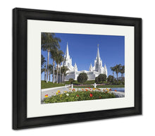 Load image into Gallery viewer, Framed Print, Mormon Temple The San Diego California Temple