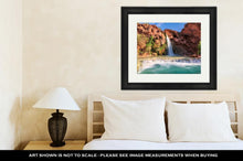 Load image into Gallery viewer, Framed Print, Havasu Falls Waterfall