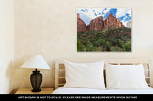 Load image into Gallery viewer, Gallery Wrapped Canvas, Zion National Park Utah USA