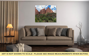 Gallery Wrapped Canvas, Zion National Park Utah USA