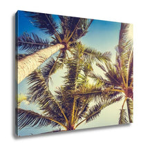 Load image into Gallery viewer, Gallery Wrapped Canvas, Coconut Palm Tree