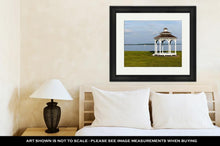 Load image into Gallery viewer, Framed Print, Pair Of Garden Chairs By Chesapeake Bay