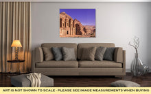 Load image into Gallery viewer, Gallery Wrapped Canvas, The Monastery Petra Jordan