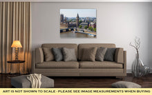 Load image into Gallery viewer, Gallery Wrapped Canvas, London In An Aerial View