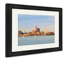 Load image into Gallery viewer, Framed Print, Cleveland On The Water