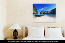 Load image into Gallery viewer, Gallery Wrapped Canvas, Maya Bay Phi Phi Leh Island Thailand