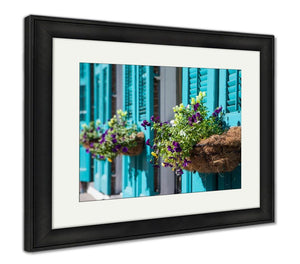 Framed Print, New Orleans Flowers
