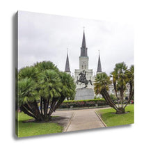 Load image into Gallery viewer, Gallery Wrapped Canvas, Jackson Square New Orleans