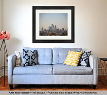 Load image into Gallery viewer, Framed Print, Philadelphia Skyline