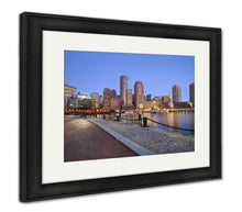 Load image into Gallery viewer, Framed Print, Boston Skyline