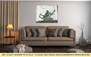 Gallery Wrapped Canvas, Spirit Of Detroit Statue