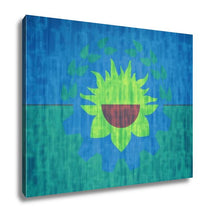 Load image into Gallery viewer, Gallery Wrapped Canvas, Buenos Aires Flag