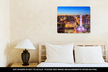 Load image into Gallery viewer, Metal Panel Print, Baltimore Maryland Uscityscape Mt Vernon Washington Monument