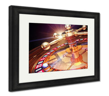 Load image into Gallery viewer, Framed Print, Las Vegas High Resolution 3d Rendering Of Roulette