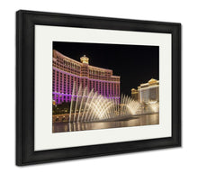 Load image into Gallery viewer, Framed Print, Water Show At Bellagio