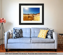 Load image into Gallery viewer, Framed Print, Valley Of Fire Nevada USA