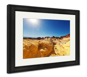 Framed Print, Valley Of Fire Nevada USA