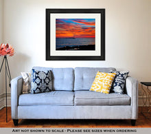 Load image into Gallery viewer, Framed Print, Ibiza San Antonio Abad De Portmany Sunset