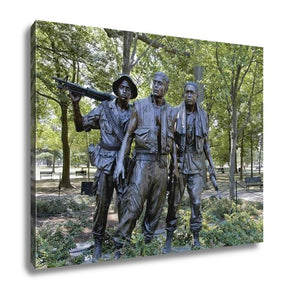 Gallery Wrapped Canvas, Vietnam War Memorial